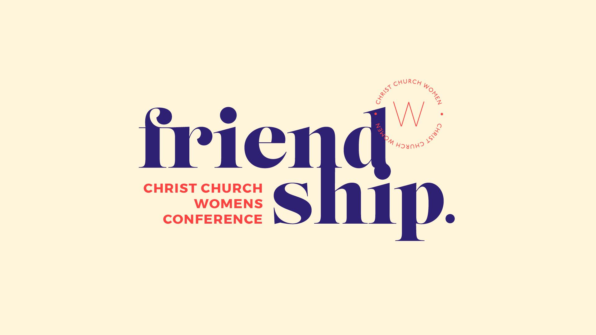 Friendship Women's Conference Talk Three