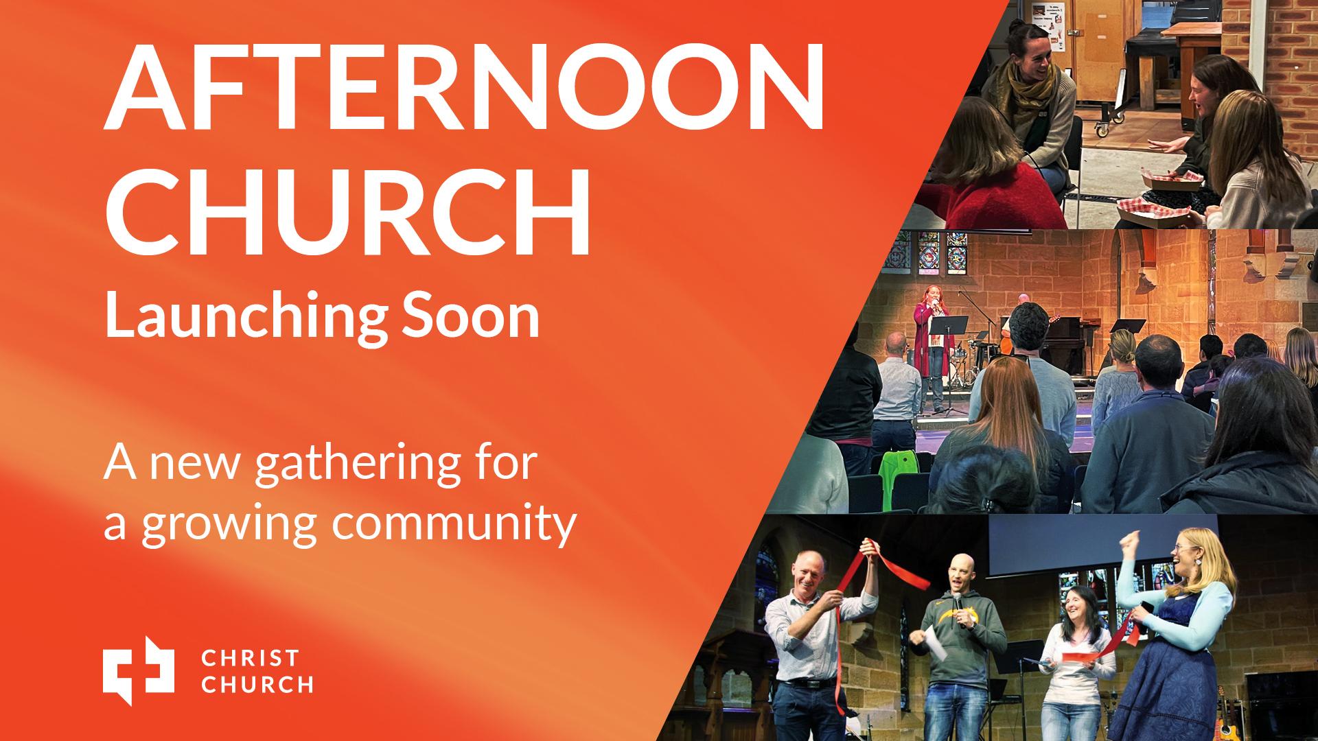 4pm Church Launch